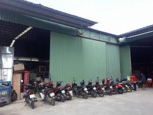 Cho thuê gấp kho xưởng Quận 7 DT 400m đường Nguyễn Văn Linh.