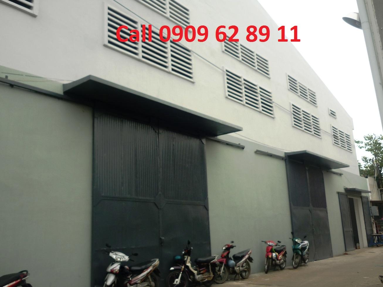 thue kho xuong 1000m2, 1200m2 Nguyen Tat Thanh gan Hoang Dieu, Quan 4