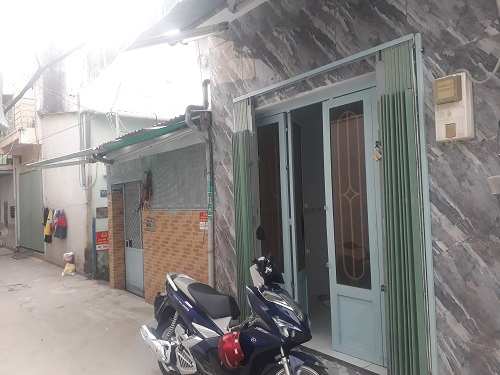Bán gấp nhà hẻm 585 Huỳnh Tấn Phát, P.Tân Thuận Đông Quận 7
