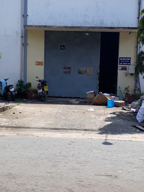 Cho thuê GẤP nhà kho DT 130m giá 11,9tr MT đường số 45 khu Tân Qui, Quận 7.