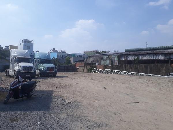 Cho thuê kho bãi Quận 7 đường Nguyễn Văn Quỳ mặt bằng đất trống 2000m