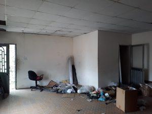 Cho thuê nhà kho 100m mặt tiền có nhà nhỏ 80m đường Phú Thuận Quận 7.